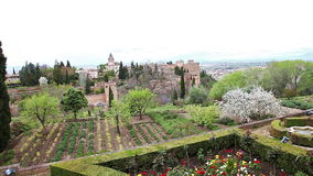 Alhambra fortress gardens