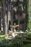 Alhambra - garden Stock Images