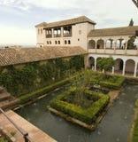 Alhambra-Garten Stockfotos