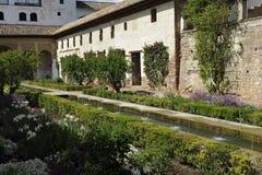 Alhambra, Generalife Palace, Granada, Spain Stock Images