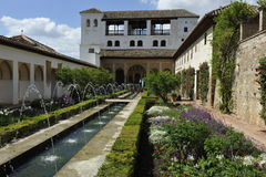 Alhambra, Generalife Palace, Granada, Spain Stock Photos