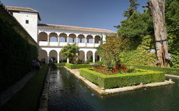 Alhambra Royalty Free Stock Photography