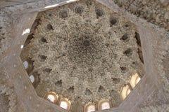 Alhambra Generalife am Sommer Spanisch, Architektur Lizenzfreie Stockbilder