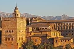 alhambra granada Испания Стоковые Фото
