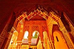 Alhambra, Granada Imágenes de archivo libres de regalías