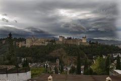 Alhambra-Granada-2 imagens de stock royalty free