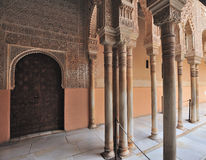 alhambra granada Arkivfoton