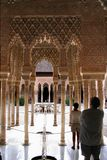 alhambra granada Arkivbilder
