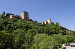 Alhambra. Granada Royalty Free Stock Photography