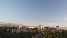 Alhambra Granada almacen de video