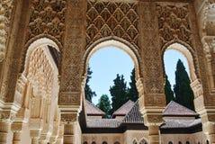 alhambra granada Стоковое Изображение RF