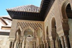 alhambra granada Стоковое Изображение