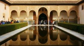 Alhambra, Granada Royalty-vrije Stock Fotografie