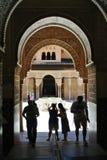 alhambra granada Стоковые Изображения RF