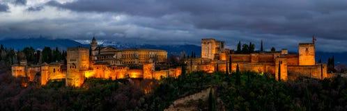 Alhambra Granada Fotografie Stock Libere da Diritti