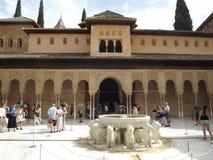 alhambra Granada Obraz Royalty Free