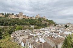 Alhambra Granada Stock Afbeeldingen