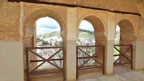 alhambra granada arkivfilmer