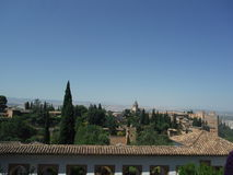Alhambra, Granada Lizenzfreie Stockfotos