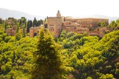 Alhambra Granada Andalusia Hiszpania wspominki konkieta arabowie dla prawie 1000 rok obraz stock