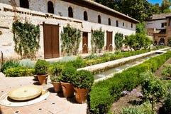Alhambra a Granada, Andalusia, Spagna Fotografia Stock Libera da Diritti