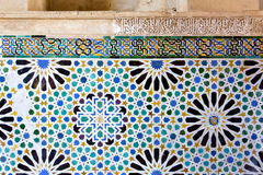 Alhambra of Granada, Andalusia, Spain. A beautiful detail of Alhambra in Granada, Andalusia, Spain Royalty Free Stock Image