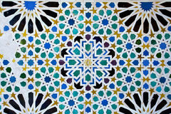 Alhambra of Granada, Andalusia, Spain. A beautiful detail of Alhambra in Granada, Andalusia, Spain Stock Photos