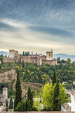 The Alhambra in Granada, Andalusia, Spain. Stock Photo