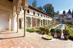 Alhambra of Granada, Andalusia, Spain Royalty Free Stock Images