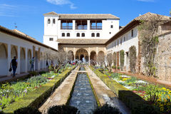 Alhambra of Granada, Andalusia, Spain Royalty Free Stock Photos