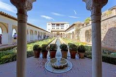 Alhambra of Granada, Andalusia, Spain Stock Image