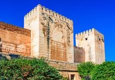 Alhambra Granada, Andalusia, Spanien Arkivfoto
