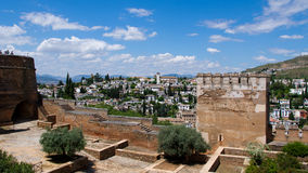 The Alhambra. In Granada city, Andalucia, Spain Stock Images