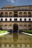 Alhambra Granada Generalife Monument royalty free stock images