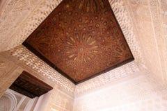 alhambra granada la spain Royaltyfri Fotografi