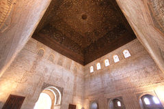 alhambra granada la spain Royaltyfri Foto