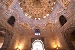 alhambra granada la spain Arkivbilder