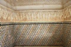 alhambra granada la spain Royaltyfria Bilder