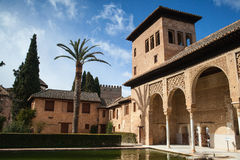 In Alhambra in Granada Stock Photo