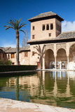 In Alhambra in Granada Royalty Free Stock Photos