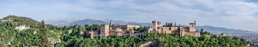 Alhambra in Granada Royalty Free Stock Photography