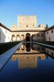 Alhambra a Granada Spagna Immagini Stock Libere da Diritti