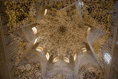 Alhambra. Granada Spagna. Fotografie Stock Libere da Diritti