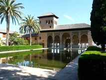 The Alhambra in Granada, Spain Stock Image