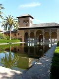 The Alhambra in Granada, Spain Royalty Free Stock Photos