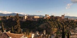Alhambra in Granada, Spain royalty free stock photo
