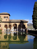 Alhambra in Granada Spain Stock Images