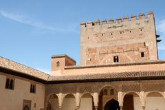 Alhambra in Granada, Spain Royalty Free Stock Photos