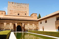 Alhambra in Granada, Spain Stock Photo