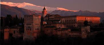 The Alhambra, Granada, Spain Royalty Free Stock Photo
